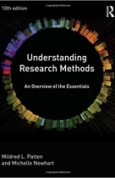 Understanding Research Methods An Overview of the Essentials 10th Edition