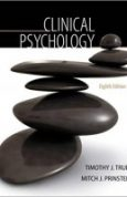 Clinical Psychology (PSY 334 Introduction to Clinical Psychology) 8th Edition