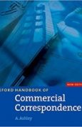 Oxford Handbook of Commercial Correspondence, New Edition