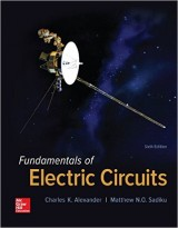 Fundamentals of Electric Circuits 6th Edition
