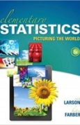 Elementary Statistics Picturing the World (6th Edition)