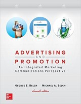 Advertising and Promotion: An Integrated Marketing Communications Perspective 11th Edition