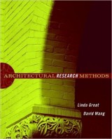Architectural Research Methods, 1St Edition