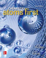 Chemistry: Atoms First 3rd Edition