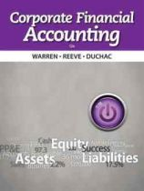 Corporate Financial Accounting, 12th edition