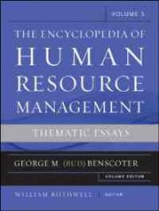 Encyclopedia of Human Resource Management, Critical and Emerging