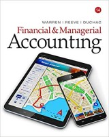 Financial & Managerial Accounting 14th Edition