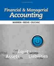 Financial and Managerial Accounting, 12th Edition