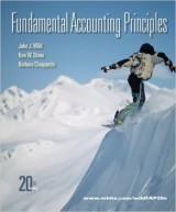 Fundamental Accounting Principles (20th edition)