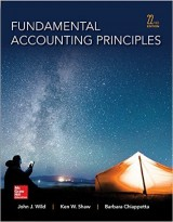 Fundamental Accounting Principles (22nd edition)