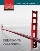 Intermediate Accounting: 2014 FASB Update, 15th edition