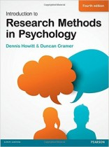 Introduction to Research Methods in Psychology, 4th edition