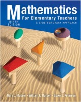 Mathematics for Elementary Teachers: A Contemporary Approach 9th Edition