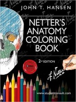 Netter's Anatomy Coloring Book: with Student Consult Access, 2e