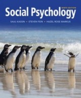 Social Psychology (9th edition) By Elliot Aronson, Timothy D. Wilson, Samuel R. Sommers