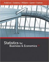 Statistics for Business & Economics 13th Edition