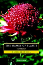 The Names of Plants, 4th edition