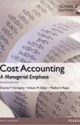 Cost Accounting, Global Edition 15th Edition