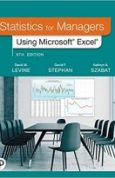 Statistics for Managers Using Microsoft Excel [RENTAL EDITION] (9th Edition)