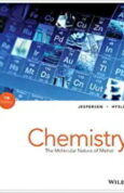Chemistry The Molecular Nature of Matter 7th Edition