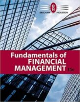 Fundamentals of Financial Management 15th Edition