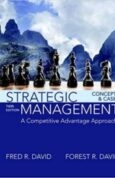 Strategic Management A Competitive Advantage Approach, Concepts and Cases 16th Edition
