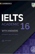 Cambridge IELTS 16 Academic Students Book with Answers with Audio