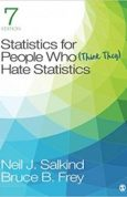 Statistics for People Who (Think They) Hate Statistics 7th Edition