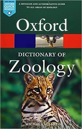 Oxford Dictionary of Zoology (Oxford Quick Reference) 5th Edition